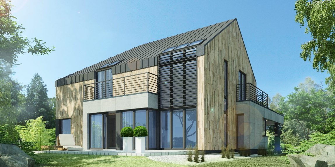 design wood house machon