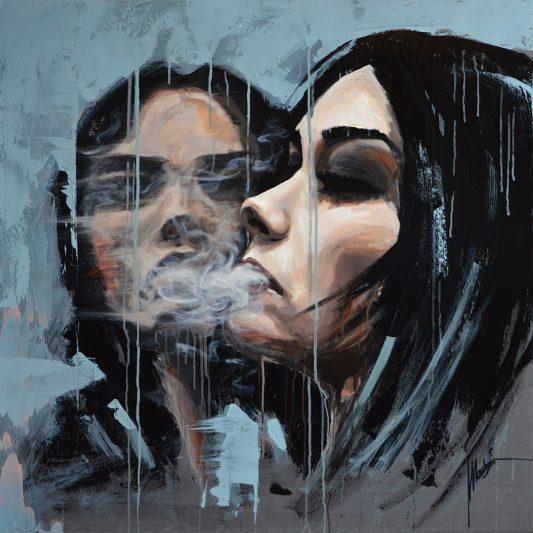 obraz portret kobieta nowoczesny współczesna sztuka najelpiej zapowiadający się polscy artyści